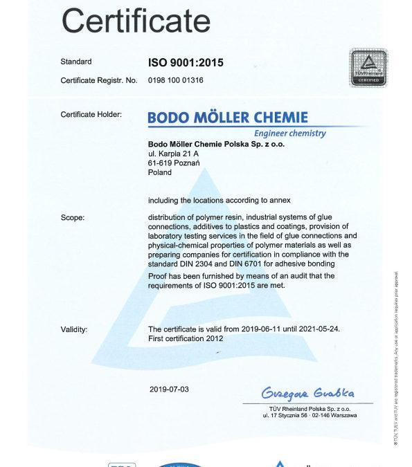 ISO 9001 Poland