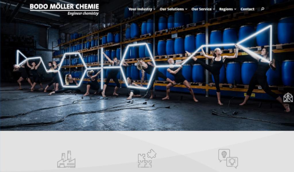 Bodo Möller Chemie presents new website   Bodo Möller Chemie