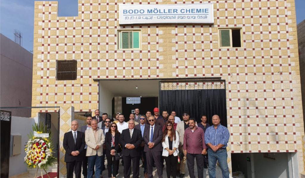 Bodo Möller Chemie opens another production facility in Egypt Comprehensive ISO-certified production with growing capacity for epoxy resins, polyurethanes and packaging fillers
