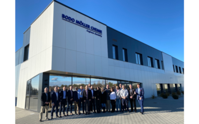 Bodo Möller Chemie Gruppe: Polish branch moves into new building 1,000 m² of dangerous goods storage for more growth in Poland, the Czech Republic and Slovakia