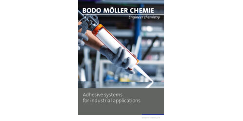 Adhesive systems for industrial applications