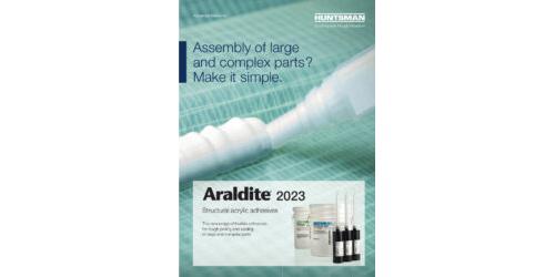 Araldite® 2023 - Structural acrylic adhesives
