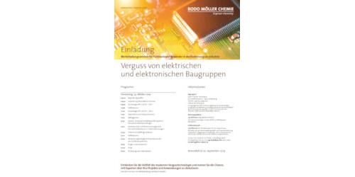 Einladung Elektroseminar 2019