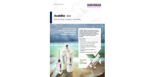 Araldite® 2051 - Fast bonding. Anytime. Anywhere.